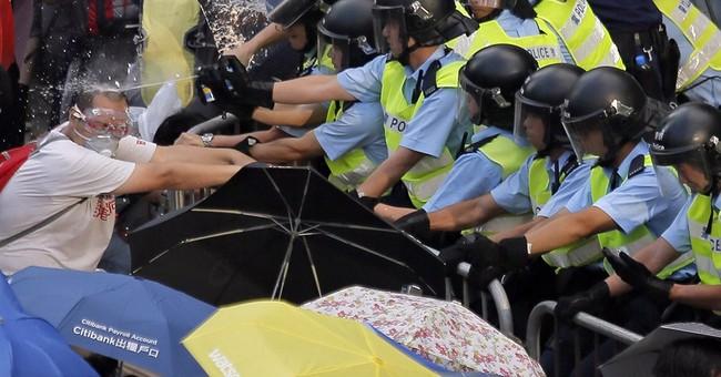 Pro-democracy protests expand in Hong Kong