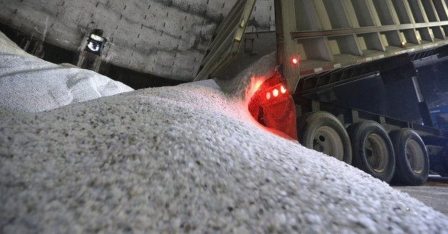 Road salt supply low, demand high as winter looms