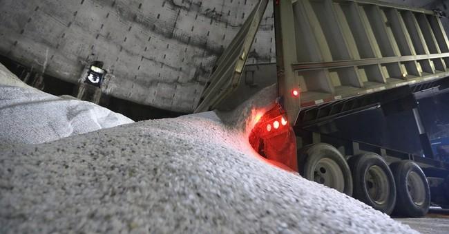 Road salt supply low, demand high as winter looms