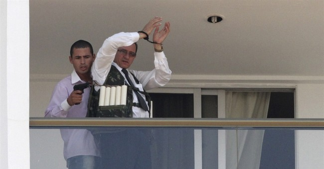 Man frees hostage held for hours at Brazil hotel