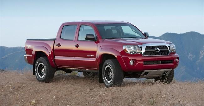 Toyota recalls 690,000 pickups to fix rear springs
