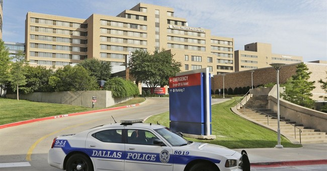 Government confirms first case of Ebola in US