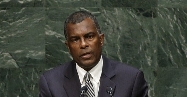 Bahamas strikes tough tone on immigration at UN