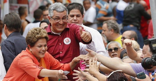 Rousseff takes lead in Brazil election poll