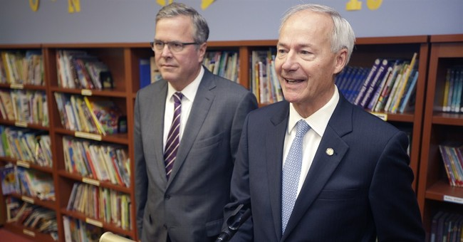 Jeb Bush talks education for Arkansas GOP hopeful