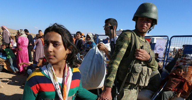 UN: Islamic State forcing thousands to flee Syria