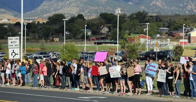 Colorado school protests roil swing state politics