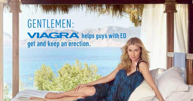 Viagra ads target women for 1st time