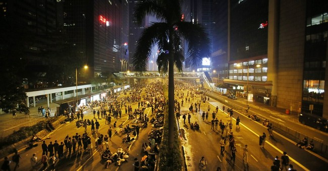 Snapshots from the protest streets in Hong Kong