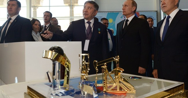 Putin visits Kazakhstan after remarks cause alarm