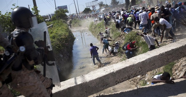 Large crowds mark 1991 coup anniversary in Haiti