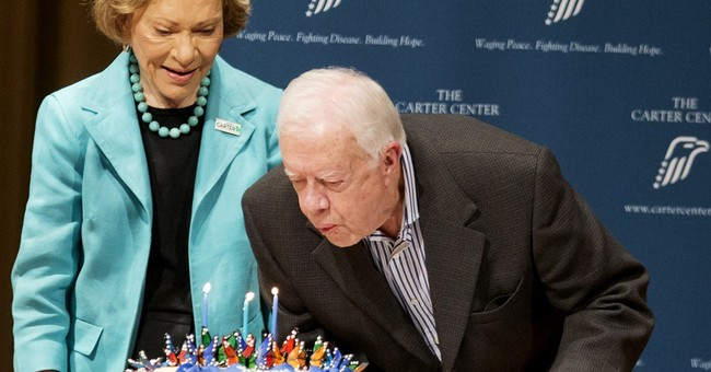 Former President Carter celebrates 90th birthday