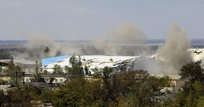 Ukraine rebels close in on Donetsk airport
