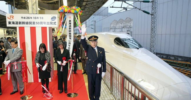 World's 1st bullet train, made in Japan, turns 50