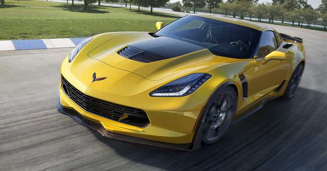 Supercharged Corvette can go 0-60 in 2.95 seconds