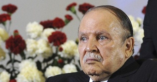 Algeria's ailing president absent amid crises