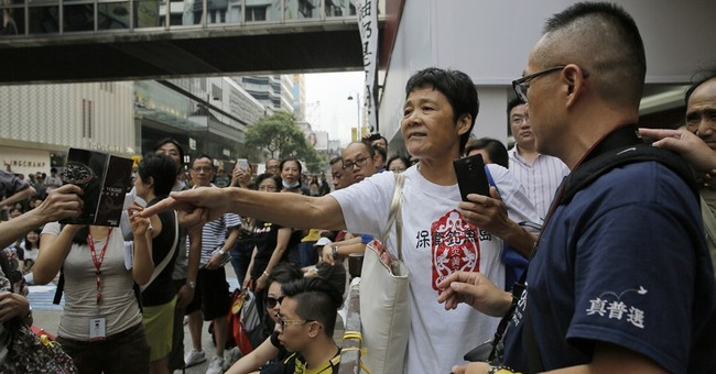 Texting apps required gear for Hong Kong protests