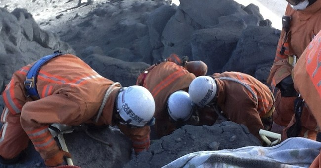 Japan police: Volcanic rocks killed most victims