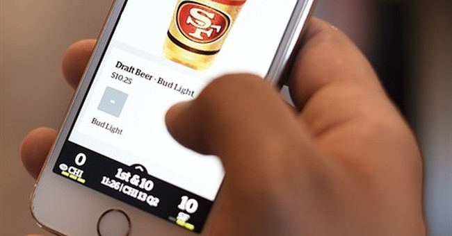 Can a football stadium be as 'smart' as a phone?