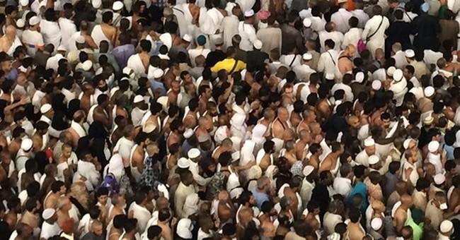 Saudi Arabia: 2 million in Mecca for start of hajj