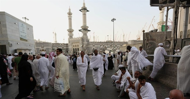 Saudi Arabia: 2 million in Mecca for start of hajj