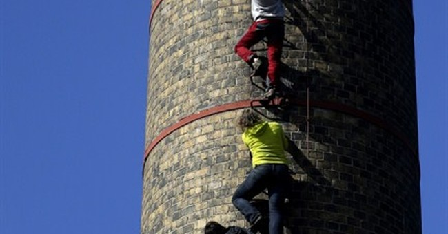 Sky's no limit for Czech chimney climbers