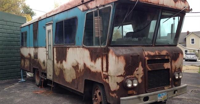 Movie RV vandalized at Ohio museum
