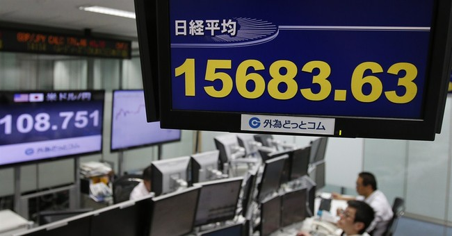Hong Kong stocks fall, others in Asia higher
