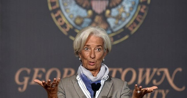 IMF head: Improved policies needed to boost growth