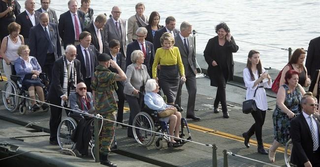 Pontoon bridge opens to remind Belgians of WWI