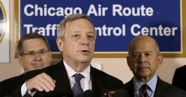 FAA chief visits sabotaged Chicago-area facility