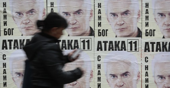 Polls: Bulgaria's center-right party leading vote