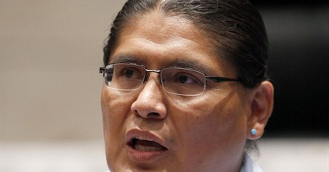 Navajo candidate faces language fluency decision