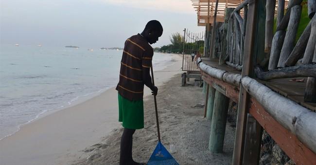 Famed beach in Jamaica slowly vanishing to erosion