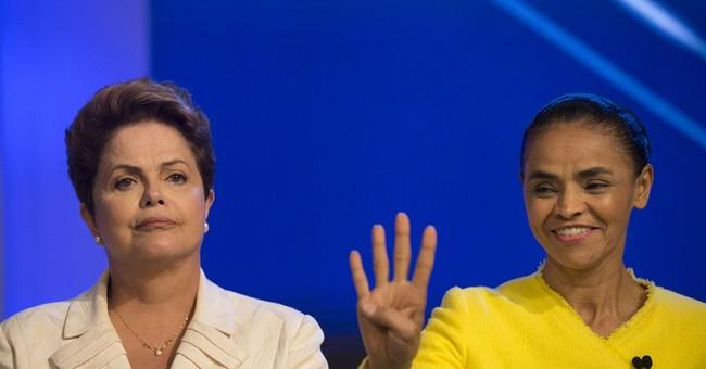 Brazil presidential contenders spar in debate