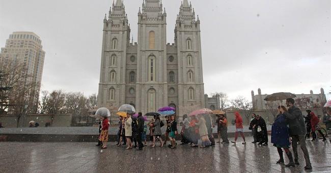 Mormon church's international mark on display