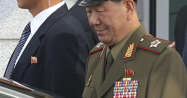N. Korea No. 2 visits South for rare talks