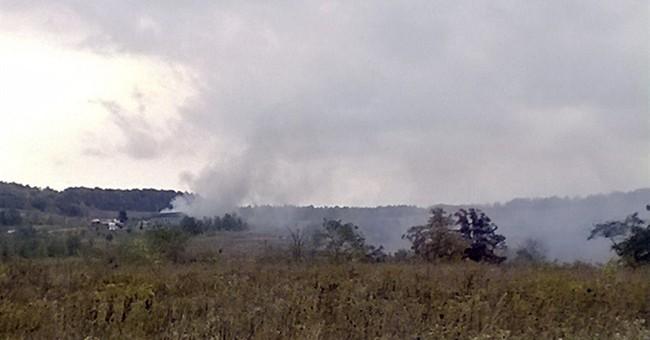 Fire destroys 3 buildings at Flight 93 memorial