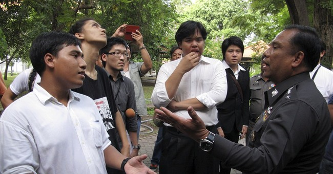 At campuses, cracks in Thailand's peaceful facade