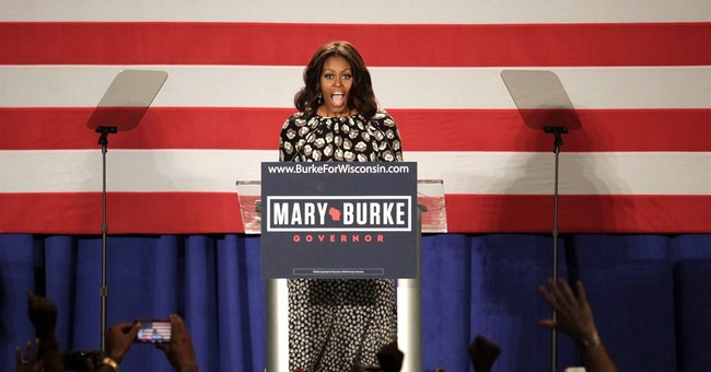 First lady hitting campaign trail for midterms