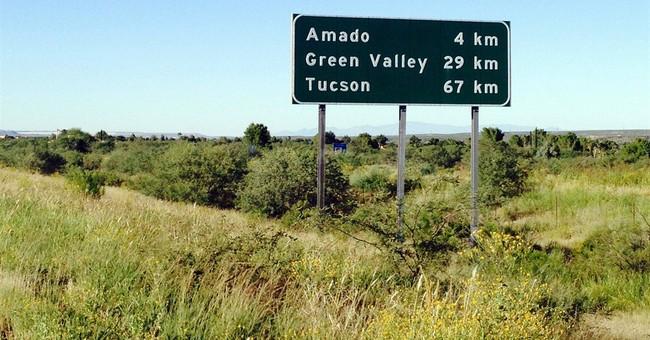 Arizona highway signs in metric units may change