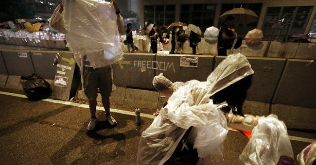 Hong Kong standoff reflects wide rifts in society