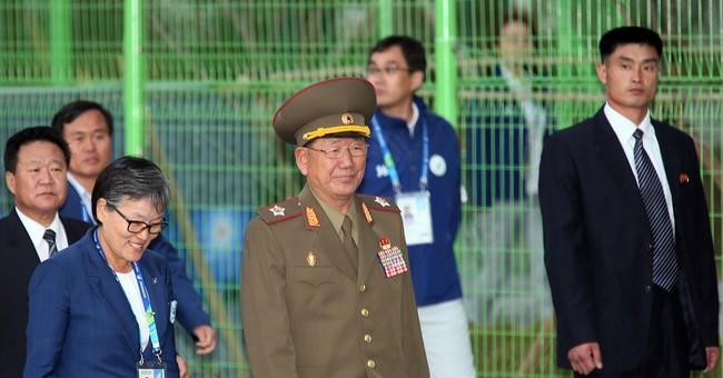 North Korea's No. 2 visits South for rare talks