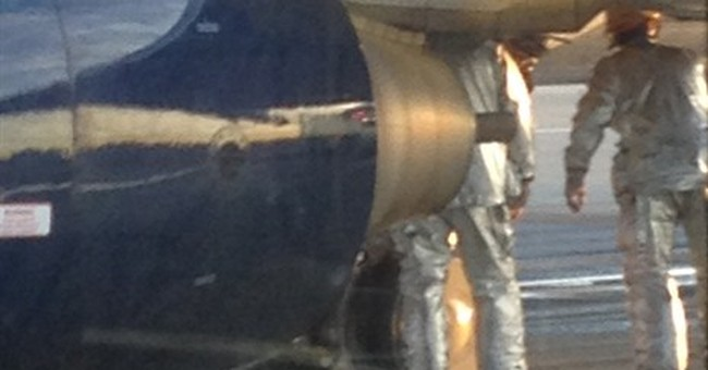 Airliner's tires blow at Los Angeles airport