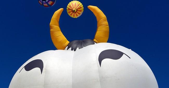 Winds stop Balloon Fiesta launch in Albuquerque