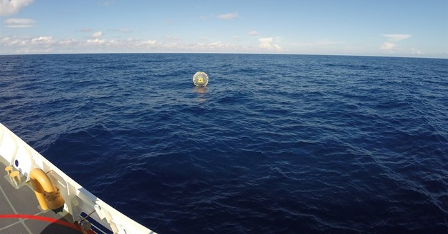 Man floating in bubble rescued by Coast Guard