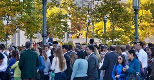Non-English speeches given at Mormon conference