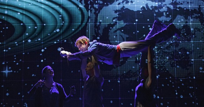 Review: B'way's 'The Curious Incident' is dazzling