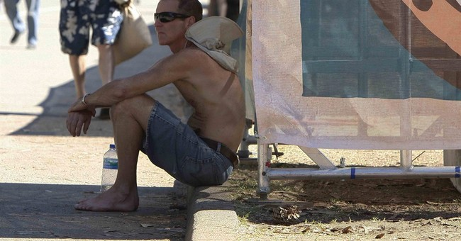 Another day of unusual heat bakes California