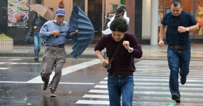 Typhoon heads to Tokyo after killing US airman